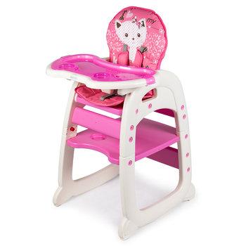 Ecotoys, Fotelik do karmienia, Pink, 2w1-Ecotoys