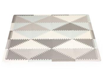Ecotoys, Mata piankowa, edukacyjna, puzzle, 20 elementów, 127x157 cm-Ecotoys