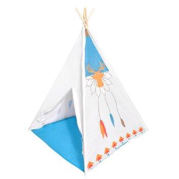 Ecotoys, namiot dla dzieci Tipi Wigwam, biały-Ecotoys