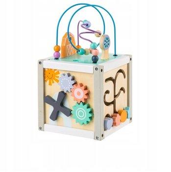 Ecotoys, sorter kostka edukacyjna z klockami -Ecotoys