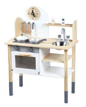 Ecotoys, zabawka edukacyjna kuchnia dla dzieci z akcesoriami -Ecotoys