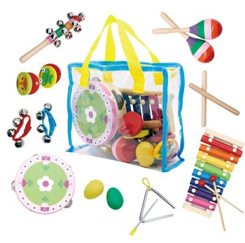 Ecotoys, zestaw muzyczny 14 instrumentów + torba-Ecotoys