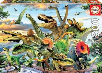 Educa, puzzle Dinozaury-Educa