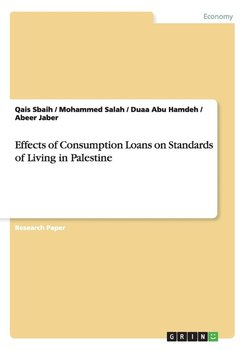 Effects of Consumption Loans on Standards of Living in Palestine-Sbaih Qais