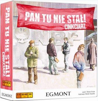 Egmont, gra rodzinna Pan tu nie stał!: Cinkciarz-Egmont