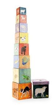 Egmont Toys, układanka klockowa Piramida Farma-Egmont Toys