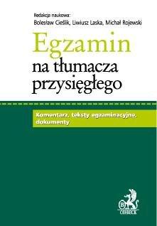 Egzamin na Tłumacza Przysięgłego-Rojewski Michał, Cieślik Bolesław, Laska Liwiusz