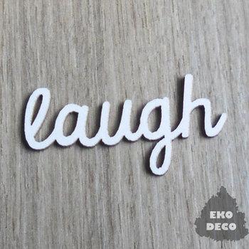 EKO-DECO, elementy decoupage, napis love, 5 sztuk-EKO-DECO