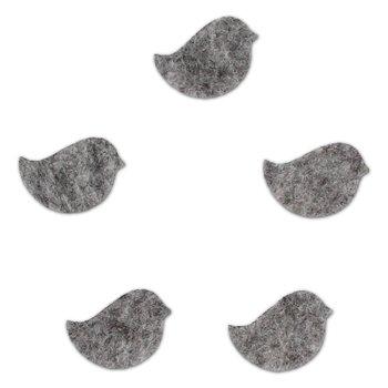 EKO-DECO, scrapki z filcu, ptaszki, 10 szt.-EKO-DECO