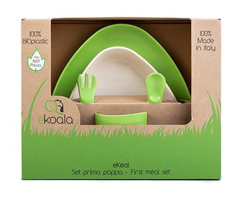 eKoala, Zestaw obiadowy, Green, BIOplastik-eKoala