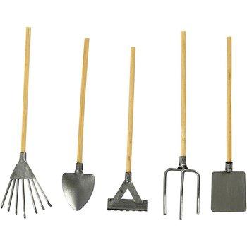 Elementy do decoupage, narzędzia ogrodowe, 5 sztuk-Creativ Company A/S