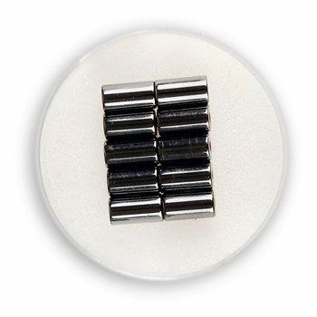 Elementy ozdobne, magnetyczny walec, 10 sztuk