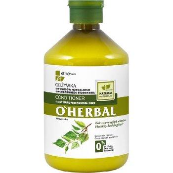 Elfa Pharm, O'Herbal, odżywka z ekstraktem z brzozy do włosów normalnych, 500 ml-Elfa Pharm
