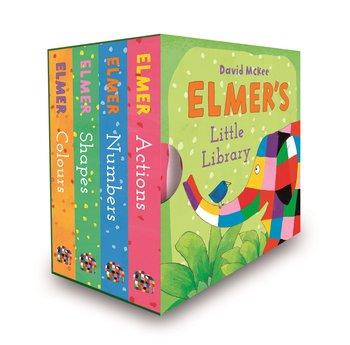 Elmer's Little Library-McKee David