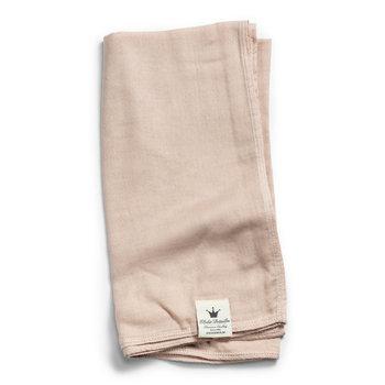 Elodie Details, Kocyk bambusowy, 80x80 cm, Powder Pink-Elodie Details