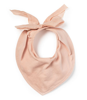 Elodie Details, Organic, Śliniak/Bandanka, Powder Pink-Elodie Details