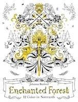Enchanted Forest Notecards-Basford Johanna