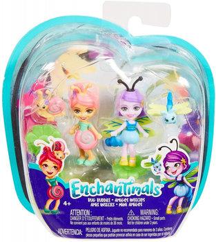 Enchantimals, figurki Ślimak i Ważka-Enchantimals