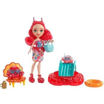 Enchantimals Morski zestaw, Lalka Cameo Crab + Chela i Courtney, FKV60-Enchantimals