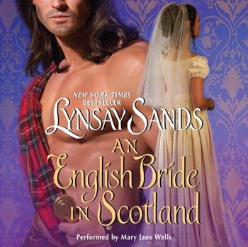 English Bride in Scotland-Sands Lynsay