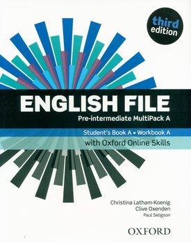 English File 3E Pre-Intermediate Multipack A+ Oxford Online Skills-Latham-Koenig Christina, Oxenden Clive