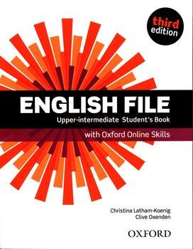 English File Upper-Intermediate Student's Book + Oxford Online Skills-Latham-Koenig Christina, Oxenden Clive