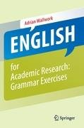 English for Academic Research: Grammar Exercises-Wallwork Adrian