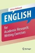 English for Academic Research: Writing Exercises-Wallwork Adrian