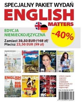 English Matters Pakiet (edycja niemieckojęzyczna)