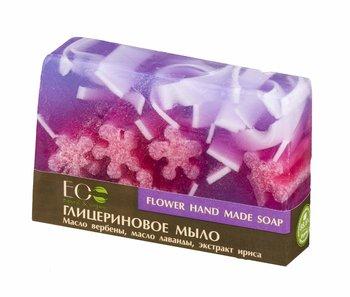 EO Laboratorie, mydło glicerynowe ręcznie robione Kwiatowe, 130 g-EO Laboratorie
