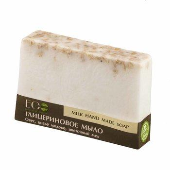 EO Laboratorie, mydło glicerynowe ręcznie robione Mleko i Miód, 130 g-EO Laboratorie