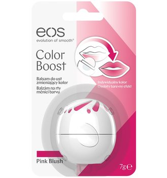eos, Color Boost, Balsam do ust zmieniający kolor Pink Blush, 7 g-eos