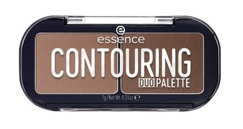 Essence, Contouring Duo Palette, paleta do konturowania 20 Darker Skin, 7 g - Essence