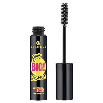 Essence, Get Big Lashes Volume Boost, tusz do rzęs pogrubiający Black, 12 ml - Essence