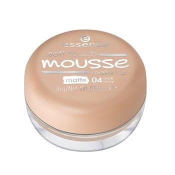 Essence, Soft Touche Mousse, podkład matujący w musie 04 Matt Ivory, 16 g-Essence