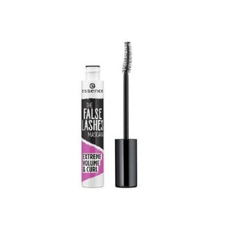 Essence, The False Lashes Extreme Volume & Curl, tusz do rzęs Black, 10 ml - Essence