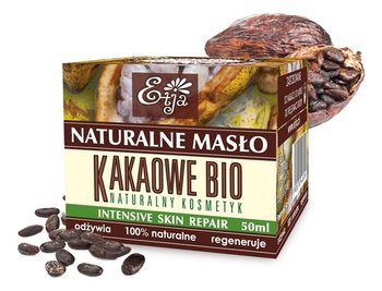 Etja, naturalne nierafinowane masło kakaowe, 50 ml-Etja