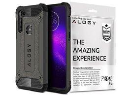 Etui Alogy Hard Armor do Motorola Moto G8 Power szare