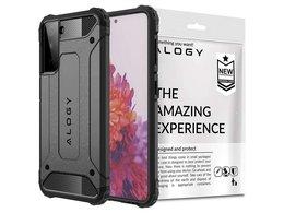Etui Alogy Hard Armor do Samsung Galaxy S21 Plus szare