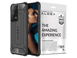 Etui Alogy Hard Armor do Samsung Galaxy S21 Ultra szare