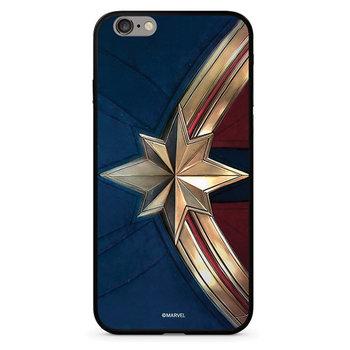 Etui Glass Marvel™ Kapitan Marvel 022 iPhone X niebieski/blue MPCCAPMV11105-Marvel