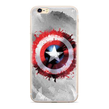 Etui Marvel™ Kapitan Ameryka 019 Sam S10 Plus G975 szary/grey MPCCAPAM7005-Marvel