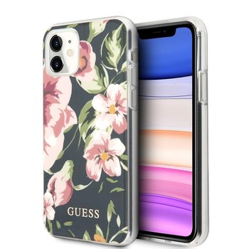 Etui na Apple iPhone 11 GUESS Flower Shiny Collection N3-GUESS