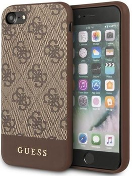 Etui na Apple iPhone 7/8/SE 2020 GUESS 4G Bottom Stripe Collection-GUESS