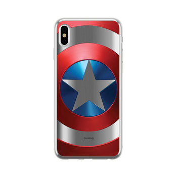Etui na Apple iPhone X/XS MARVEL Kapitan Ameryka 025 CHROME-Marvel