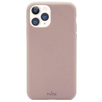 Etui na iPhone 11 Pro PURO Green Compostable Eco-friendly Cover, piaskowy róż-Puro