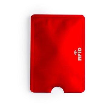 Etui na kartę kredytową KEMER, ochrona przed RFID Czerwone - czerwony    bordo-KEMER