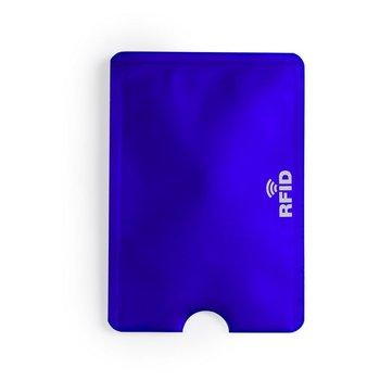 Etui na kartę kredytową KEMER ochrona przed RFID - niebieski-KEMER