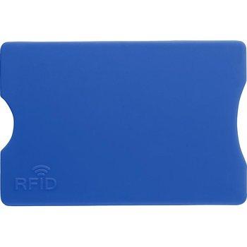 Etui na kartę kredytową KEMER, ochrona przed RFID Niebieskie - niebieski-KEMER