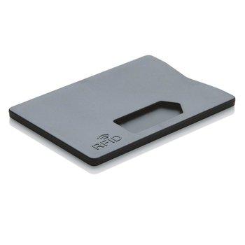 Etui na kartę z ochrona RFID Czarne - czarny-XD COLLECTION